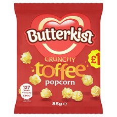 BUTTERKIST £1 TOFFEE POPCORN