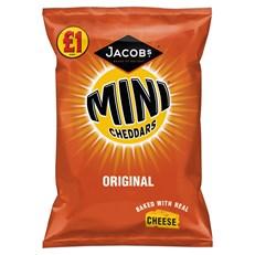 MINI CHEDDARS £1 ORIGINAL 125g (12 PACK)