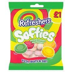 SOFTIES £1 REFRESHERS