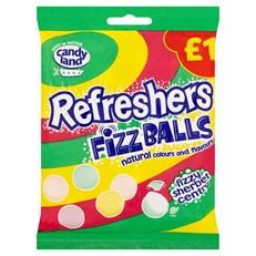 CANDYLAND £1 REFRESHER FIZZ BALLS
