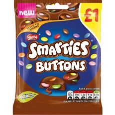 SMARTIES BUTTONS £1