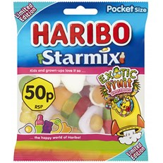 HARIBO 50P STARMIX EXOTIC