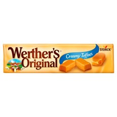 WERTHERS ORIGINAL CHEWY TOFFEES 60P