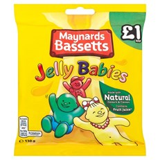 BASSETTS £1 JELLY BABIES