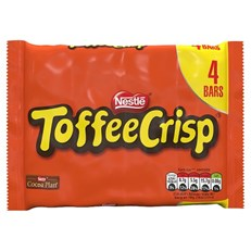 TOFFEE CRISP 4PACK