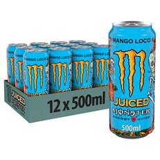MONSTER ENERGY DRINK MANGO LOCO 500ml (12 PACK)
