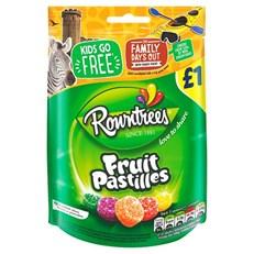 ROWNTREES £1 FRUIT PASTILLES BAG