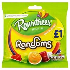 ROWNTREES £1 RANDOMS BAGS