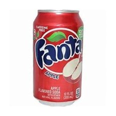 USA FANTA RED APPLE