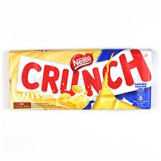 CRUNCH WHITE 100g BLOCK