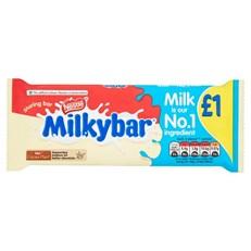 MILKYBAR WHITE CHOCOLATE 90g £1 (14 PACK)
