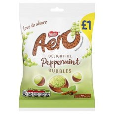 AERO BUBBLES £1 PEPPERMINT