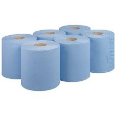 BLUE CENTRE FEED ROLL 150M