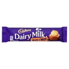CADBURYS DAIRY MILK WHOLENUT 45g (48 PACK)