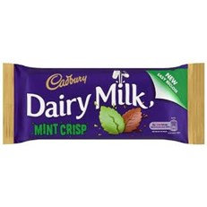 DAIRY MILK IRISH MINT CRISP 54g (48 PACK)