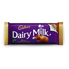 DAIRY MILK IRISH MILK CHOCOLATE