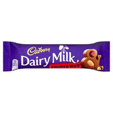 DAIRY MILK FRUIT & NUT