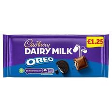 CADBURYS DAIRY MILK OREO £1 120g (17 PACK)