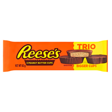 REESE'S PEANUT BUTTER CUP TRIO 63g (40 PACK) 20 OCTOBER DATED