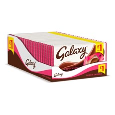 GALAXY COOKIE CRUMBLE 114g £1 (24 PACK)