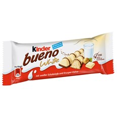 KINDER BUENO WHITE CHOCOLATE Twin Bars (30 PACK)