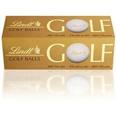 LINDT  MILK CHOCOLATE GOLF BALLS (10 X 3 PACK) 110G