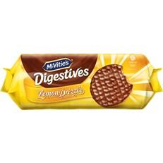 MCVITIES LEMON DRIZZLE MILK CHOCOLATE DIGESTIVES 243g (12 PACK)