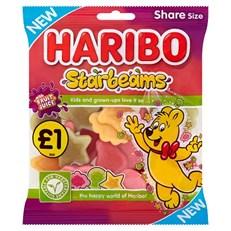 HARIBO £1 STARBEAMS 160g (12 PACK)