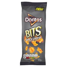 DORITOS BITS SPICY CHEESE