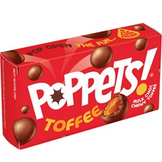 POPPETS TOFFEE