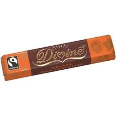 DIVINE FAIRTADE ORANGE CHOCOLATE