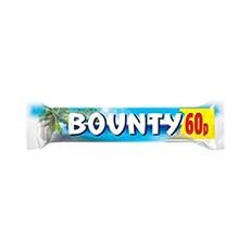 BOUNTY MILK CHOCOLATE 57g 60P (24 PACK)