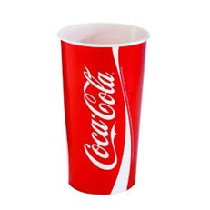 COCA COLA CUPS 22oz