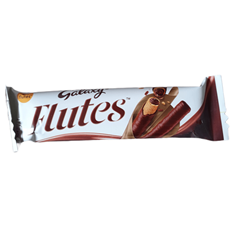 DUBAI IMPORT FLUTE MILK CHOCOLATE 22.5g 17 JUNE DATED