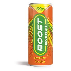 BOOST ENERGY 59P EXOTIC FRUITS
