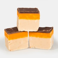 FUDGE FACTORY JAFFA CAKE FUDGE 2KG TUB