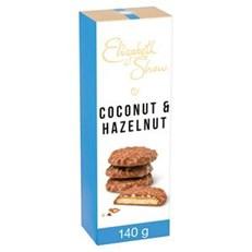 ELIZABETH SHAW COCONUT & HAZELNUT BISCUITS 140g