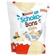 (GERMAN IMPORT) KINDER WHITE CHOC SCHOKOBONS 200g