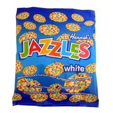 JAZZLES WHITE CHOCOLATE 200g (12 PACK)