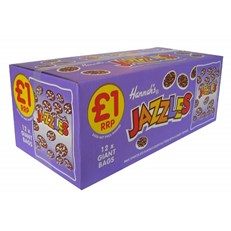 JAZZLES MILK CHOCOLATE 200g (12 PACK)