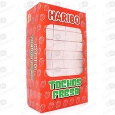 HARIBO STRAWBERRY ICE SQUARES-TOCHOS FRESA 5p