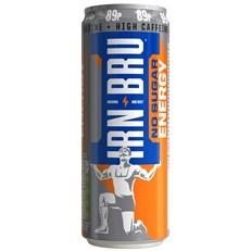 IRN BRU ENERGY DRINK NO SUGAR 330ml 89p (12 PACK)