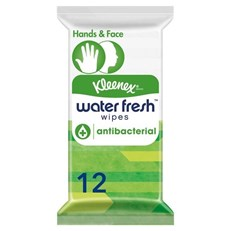 KLEENEX HYGIENIC WATERFRESH CLEANSING WIPES (20 Pack)