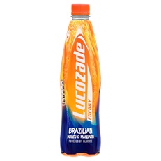 LUCOZADE ENERGY 1 LITRE MANGO & MANDARIN