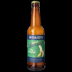 McDAIDS ORIGINAL BANANA GLASS BOTTLE 355ml (12 PACK) 24 SEPTEMBER DATED