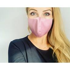 LUXURY SILK SATIN HANDMADE in the UK FACEMASK WASHABLE ADJUSTABLE