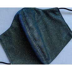 HOLOGRAPHIC FABRIC HANDMADE in the UK FACEMASK WASHABLE RE-USABLE