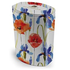 CAMPBELLS ALL BUTTER SHORTBREAD FLORAL COLLECTION POPPY TIN 120g