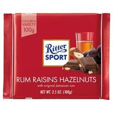 RITTER RUM, RAISIN & HAZELNUT