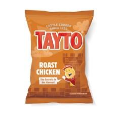 TAYTO ROAST CHICKEN 37.5g (32 BAGS)